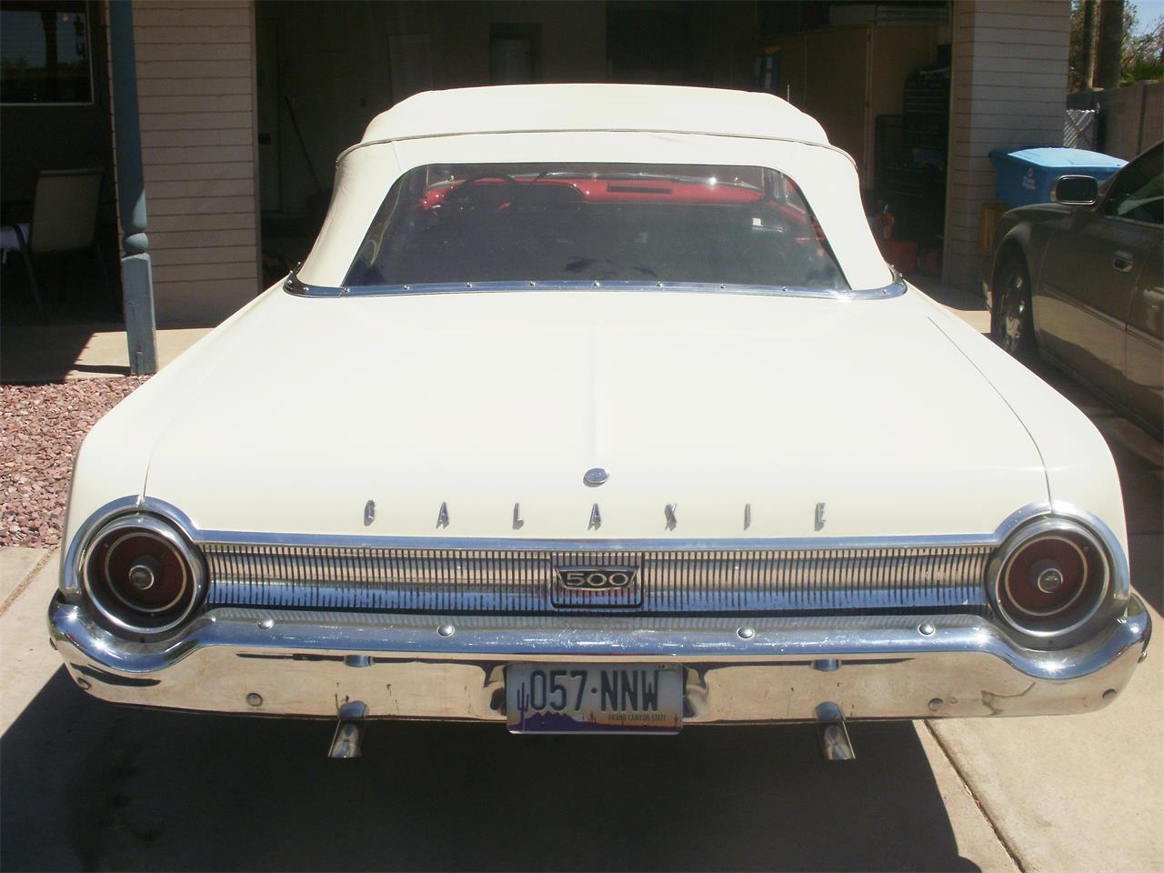 Large Picture of 1962 Ford Galaxie 500 located in Arizona - $20,000.00 Offered by a Private Seller - IFQU
