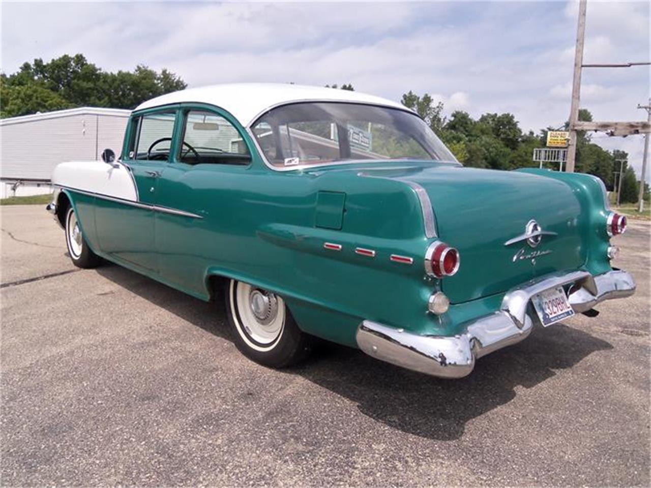 Large Picture of Classic '56 Chieftain located in Jefferson Wisconsin Offered by Top Notch Pre-Owned Vehicles - IHSA