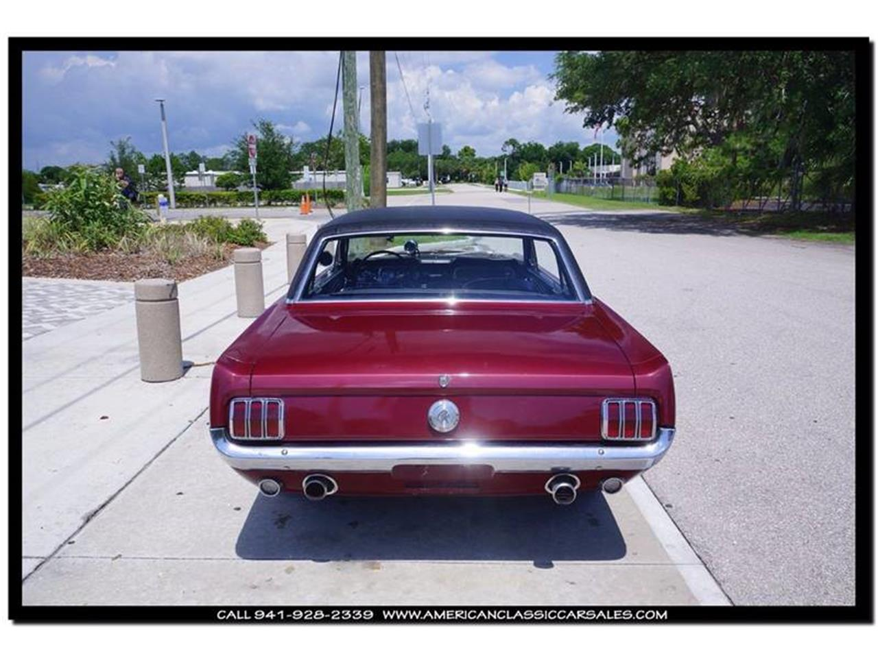 Large Picture of '66 Ford Mustang Offered by American Classic Car Sales - IHZ5