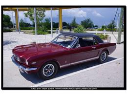 Picture of 1966 Ford Mustang located in Sarasota Florida - $45,900.00 Offered by American Classic Car Sales - IHZ5