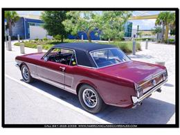 Picture of Classic '66 Ford Mustang located in Florida Offered by American Classic Car Sales - IHZ5