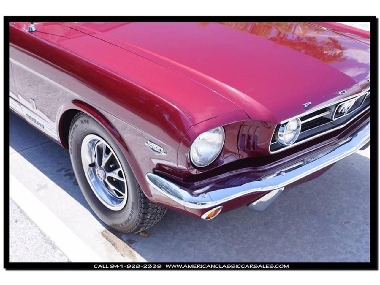 Large Picture of 1966 Mustang located in Florida Offered by American Classic Car Sales - IHZ5