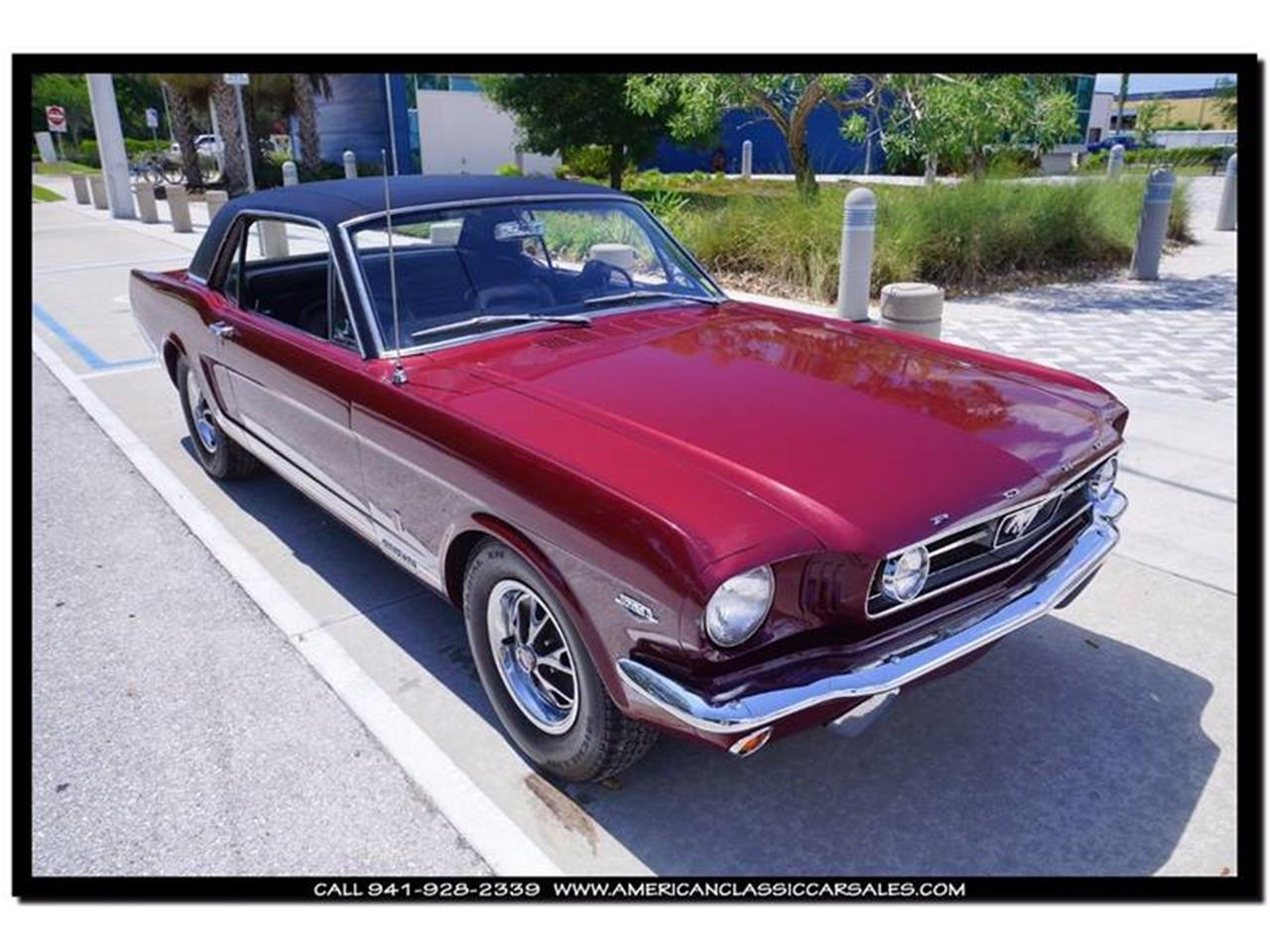 Large Picture of Classic 1966 Ford Mustang located in Sarasota Florida - $45,900.00 Offered by American Classic Car Sales - IHZ5