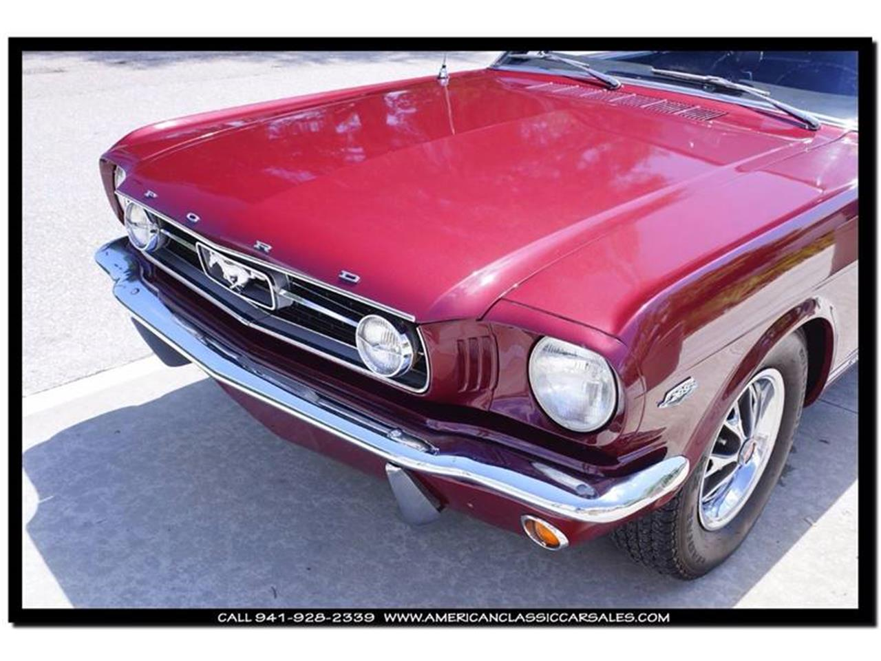 Large Picture of Classic 1966 Ford Mustang - $45,900.00 Offered by American Classic Car Sales - IHZ5