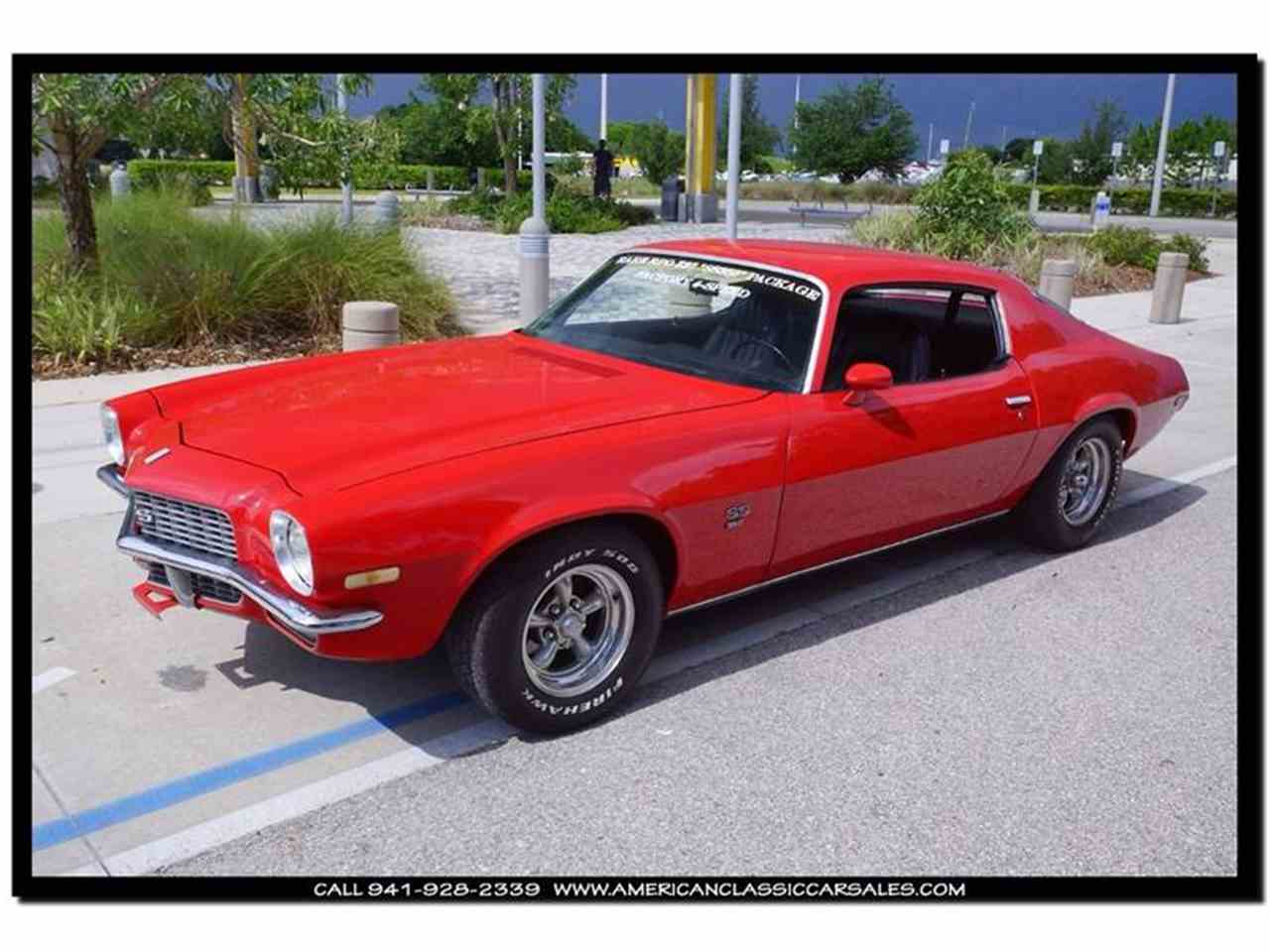 Large Picture of Classic '71 Camaro located in Sarasota Florida Offered by American Classic Car Sales - IHZJ