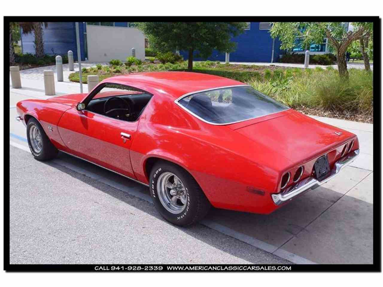 Large Picture of 1971 Camaro located in Sarasota Florida - $29,499.00 Offered by American Classic Car Sales - IHZJ
