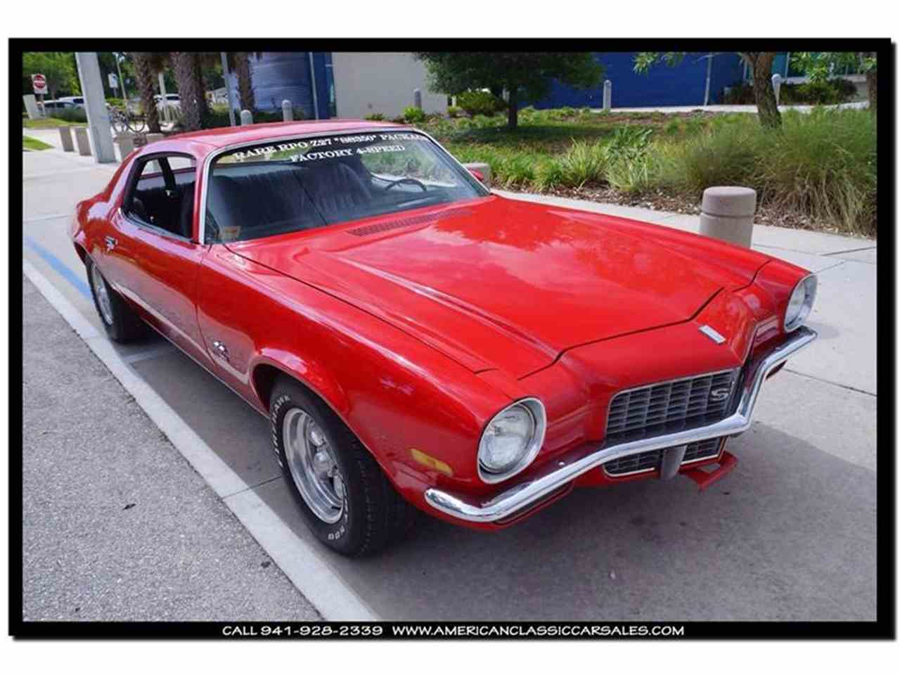 Large Picture of '71 Camaro Offered by American Classic Car Sales - IHZJ