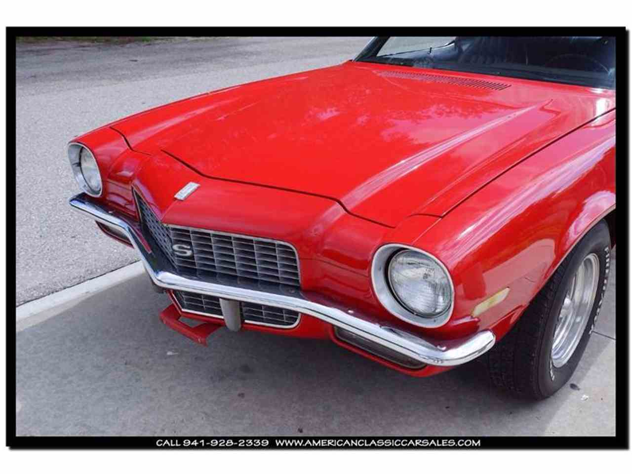 Large Picture of 1971 Chevrolet Camaro located in Florida Offered by American Classic Car Sales - IHZJ