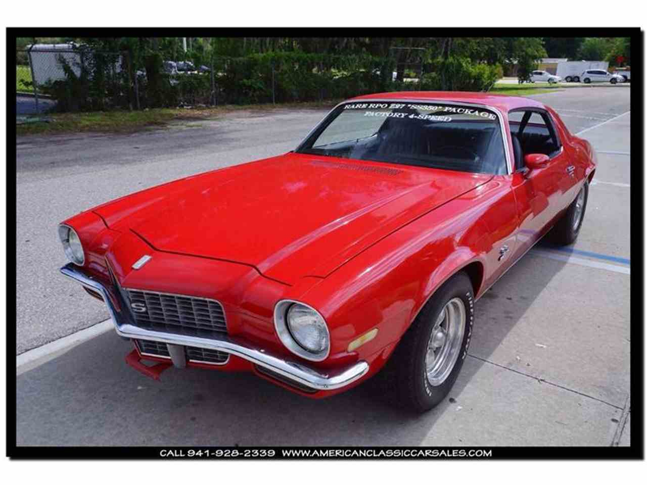 Large Picture of '71 Camaro located in Florida - $29,499.00 Offered by American Classic Car Sales - IHZJ