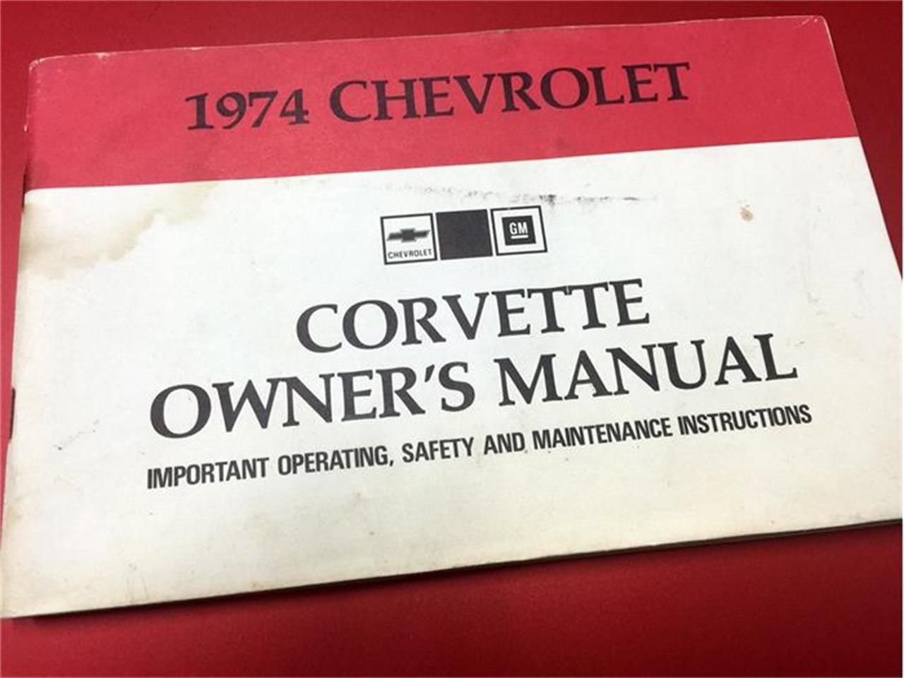 Large Picture of 1974 Chevrolet Corvette - IINP