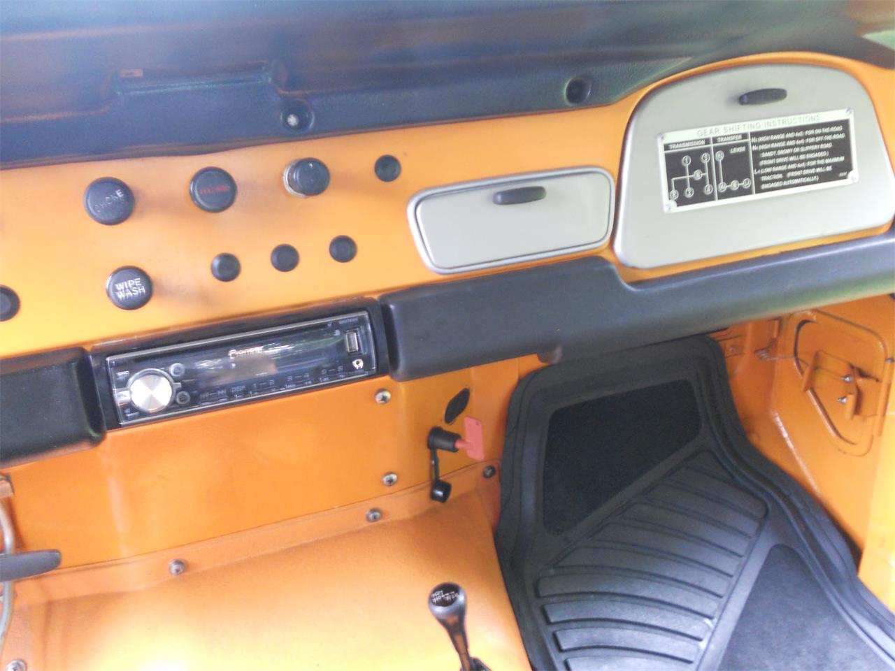 1973 Toyota Fj Cruiser For Sale Cc 864671 Land Interior Large Picture Of 73 Ij6n