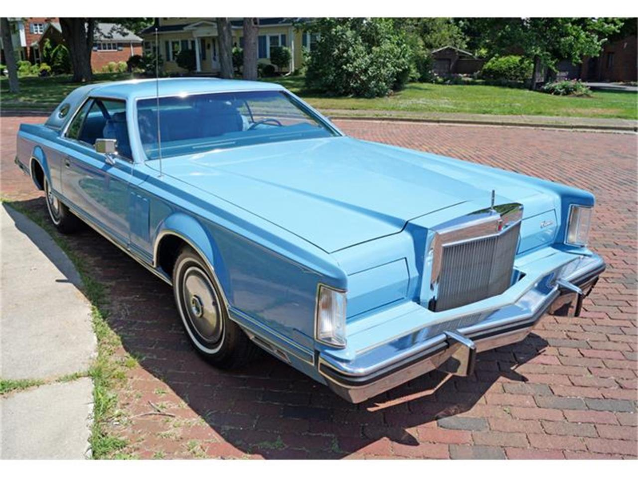 Large Picture of '78 Lincoln Continental Mark V located in Canton Ohio - IJM5