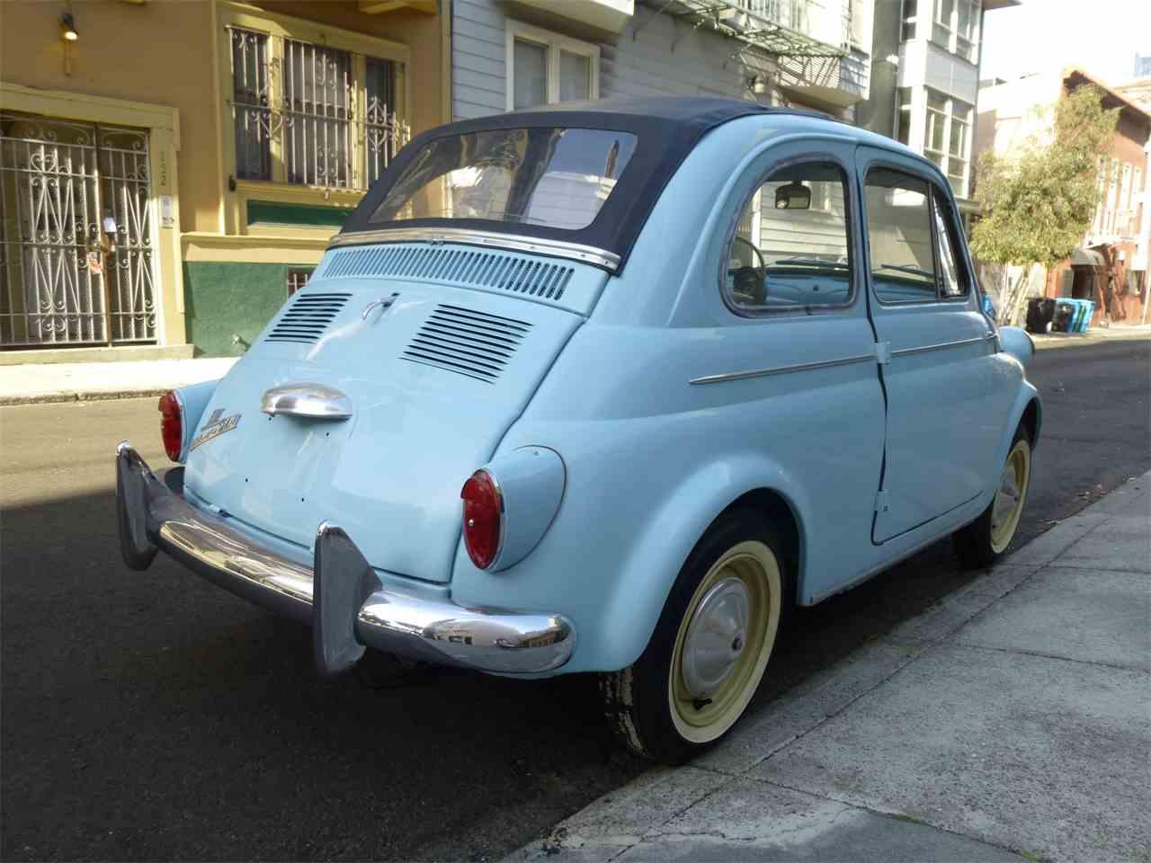 1958 Fiat Nuova 500 America For Sale Classiccars Com