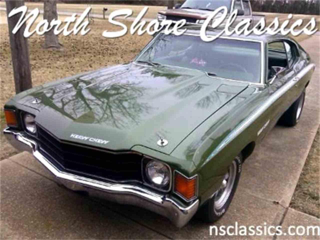 Large Picture of Classic 1972 Chevelle located in Palatine Illinois - $38,500.00 - IFZM