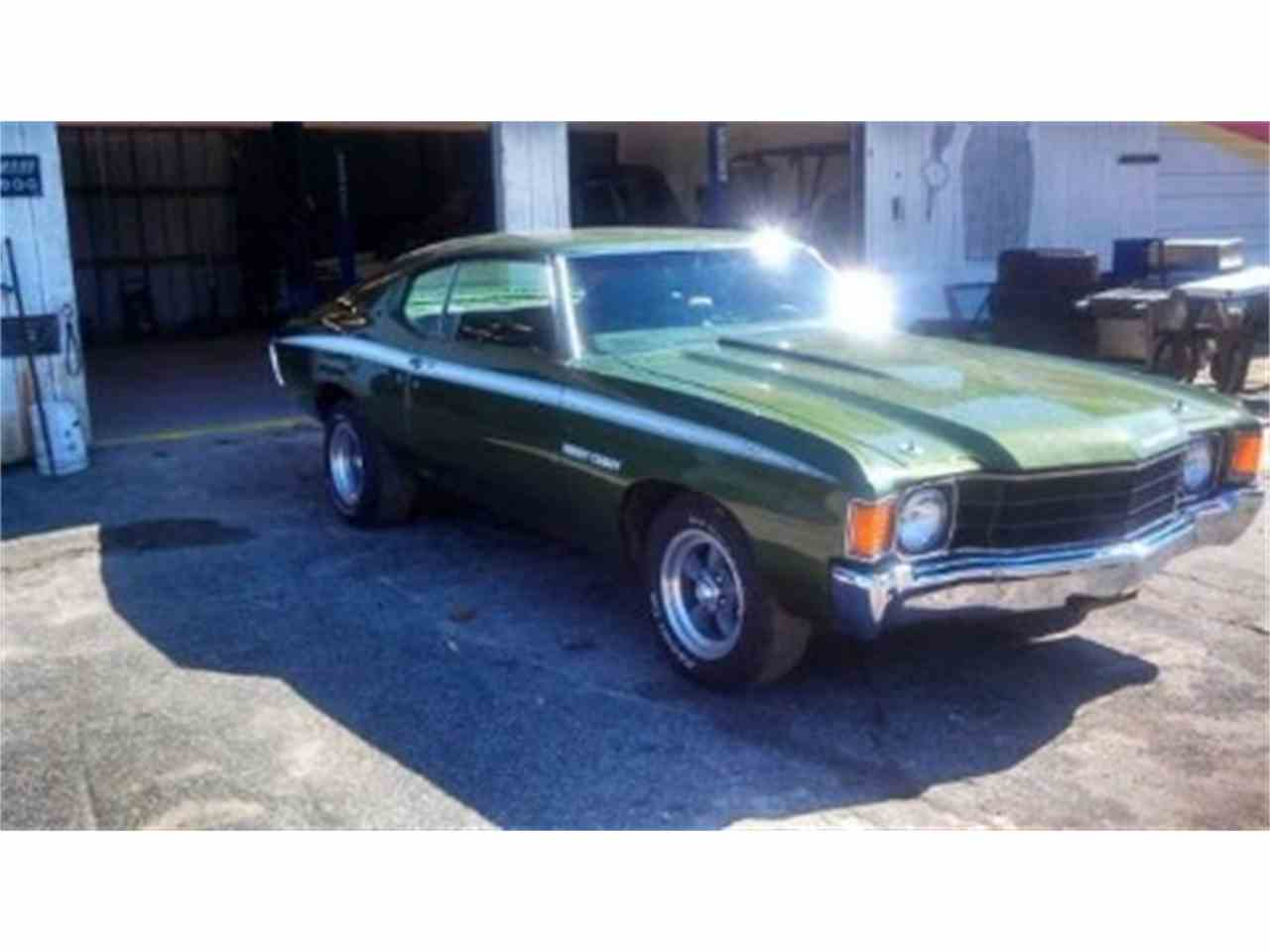 Large Picture of Classic 1972 Chevrolet Chevelle located in Palatine Illinois - IFZM