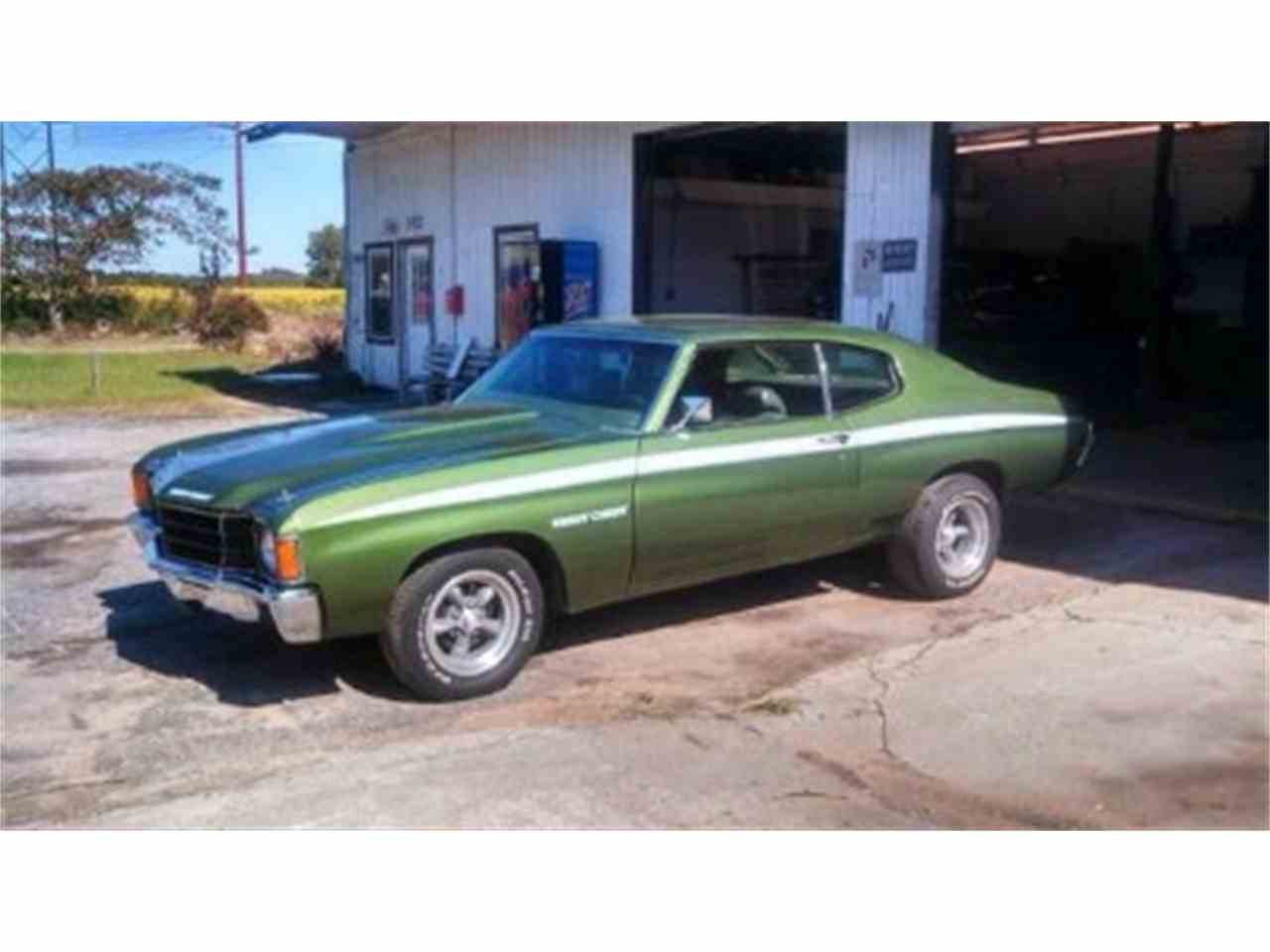 Large Picture of '72 Chevelle Offered by North Shore Classics - IFZM