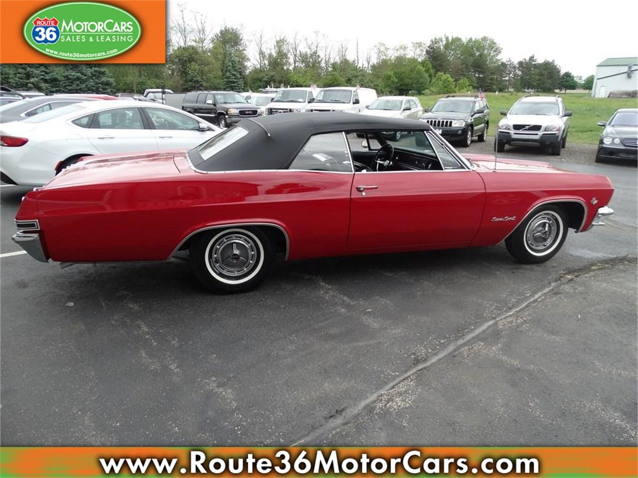 Large Picture of Classic '65 Chevrolet Impala SS located in Ohio Offered by Route 36 Motor Cars - IKGZ
