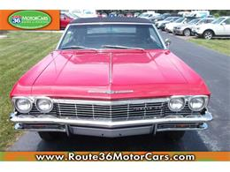 Picture of 1965 Chevrolet Impala SS located in Ohio - $84,475.00 Offered by Route 36 Motor Cars - IKGZ