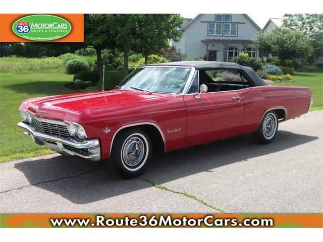 1965 chevrolet impala ss for sale on. Black Bedroom Furniture Sets. Home Design Ideas