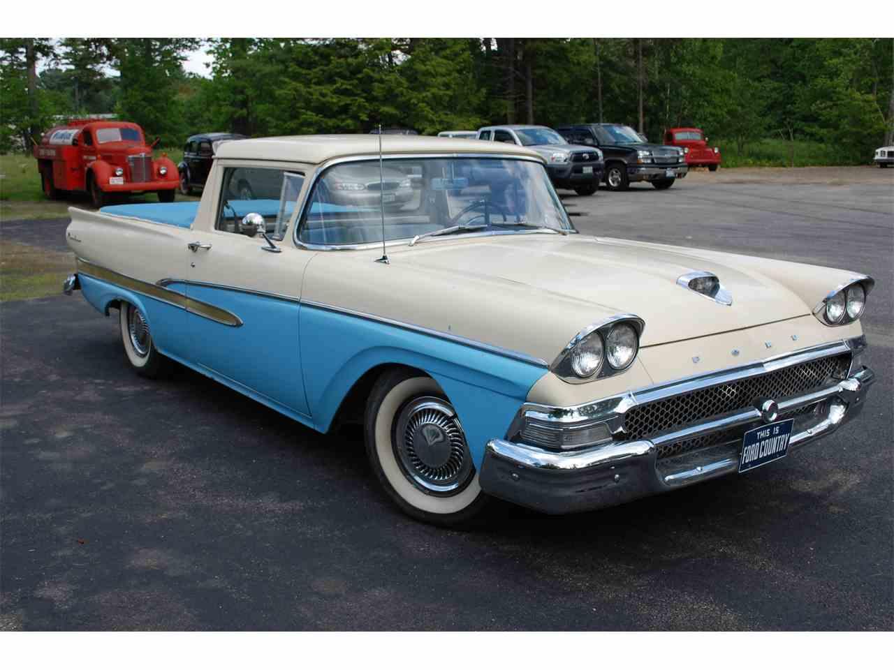 1958 Ford Ranchero for Sale | ClassicCars.com | CC-866436