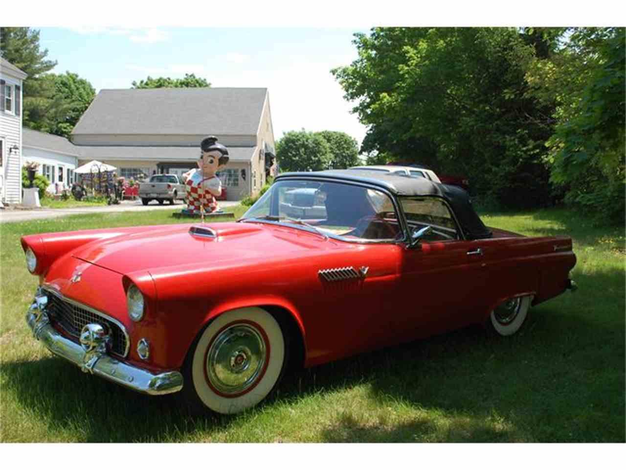 1955 ford thunderbird for sale cc 866439. Black Bedroom Furniture Sets. Home Design Ideas