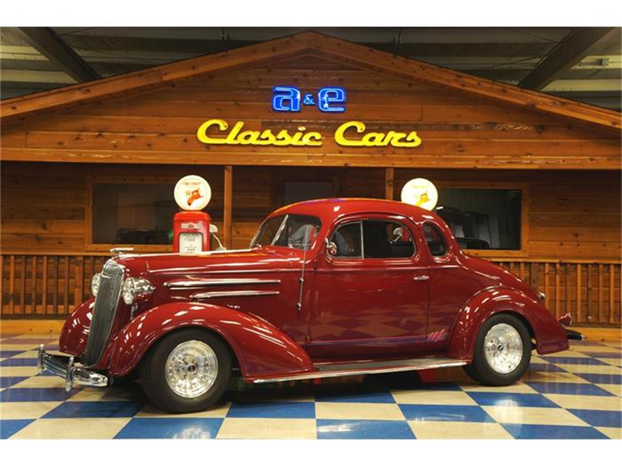 For Sale: 1936 Chevrolet 5-Window Coupe in New Braunfels, Texas
