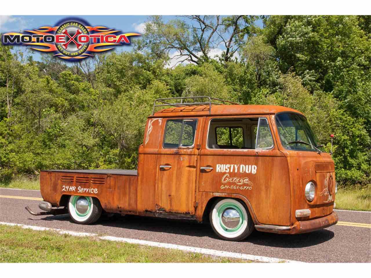 1969 Volkswagen Double Cab For Sale Classiccars Com Cc