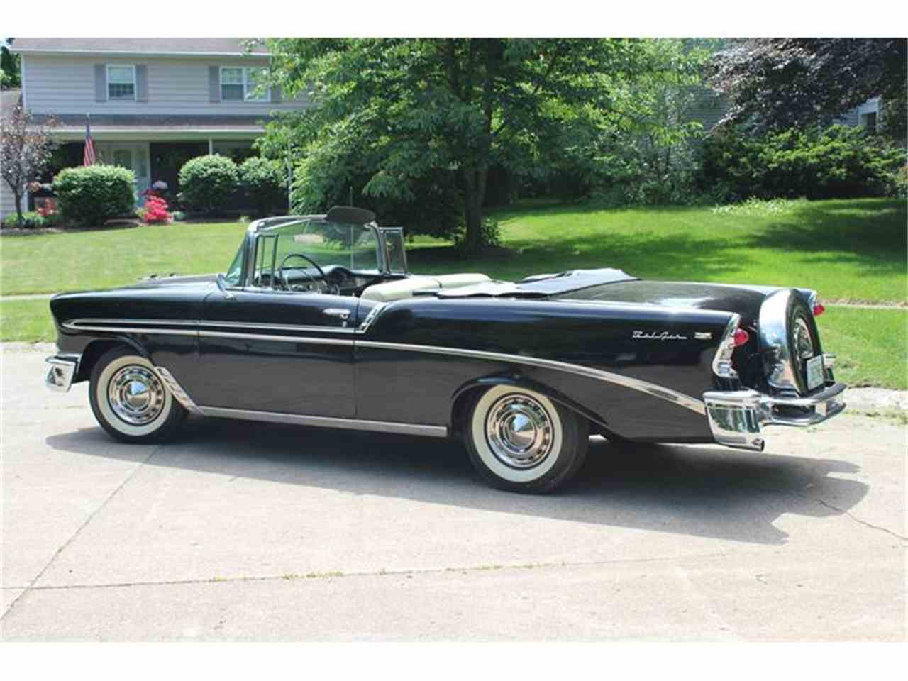 Large Picture of '56 Bel Air located in Brook Park Ohio - $89,500.00 Offered by MB Vintage Cars Inc - IPI5