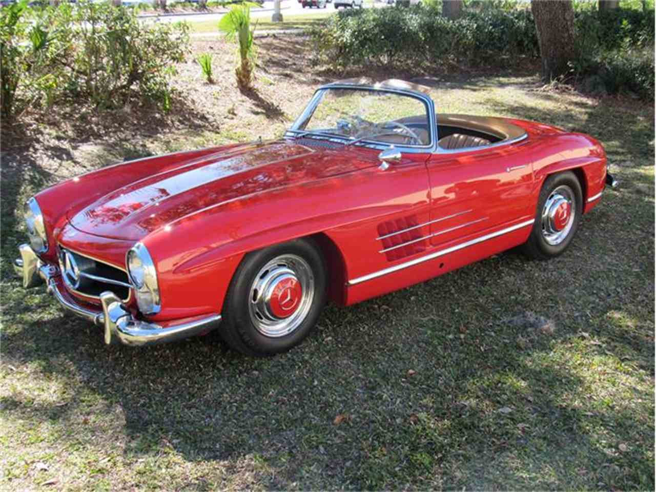 1960 mercedes benz 300sl for sale cc for Mercedes benz of sarasota florida