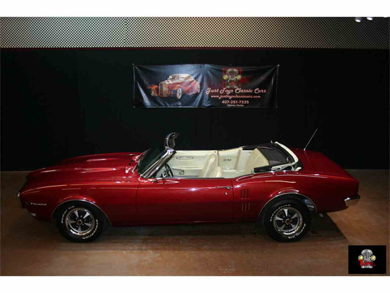 Large Picture of Classic '68 Firebird located in Florida - $33,995.00 Offered by Just Toys Classic Cars - IQ7D