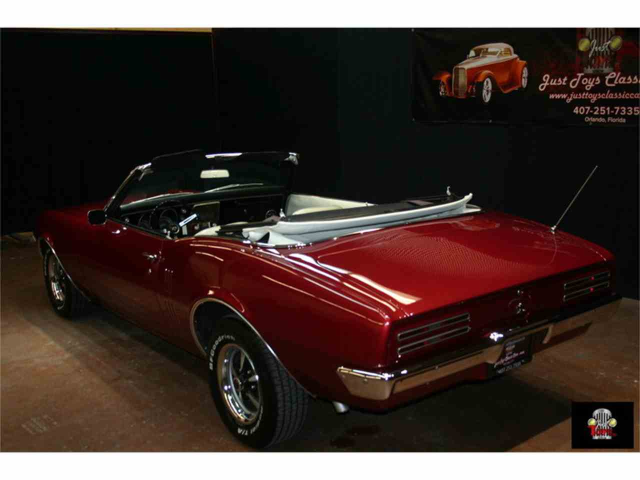 Large Picture of Classic 1968 Pontiac Firebird located in Florida Offered by Just Toys Classic Cars - IQ7D