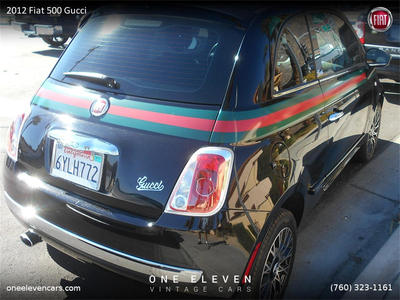 For Sale 2012 Fiat 500 Gucci In Palm Springs California