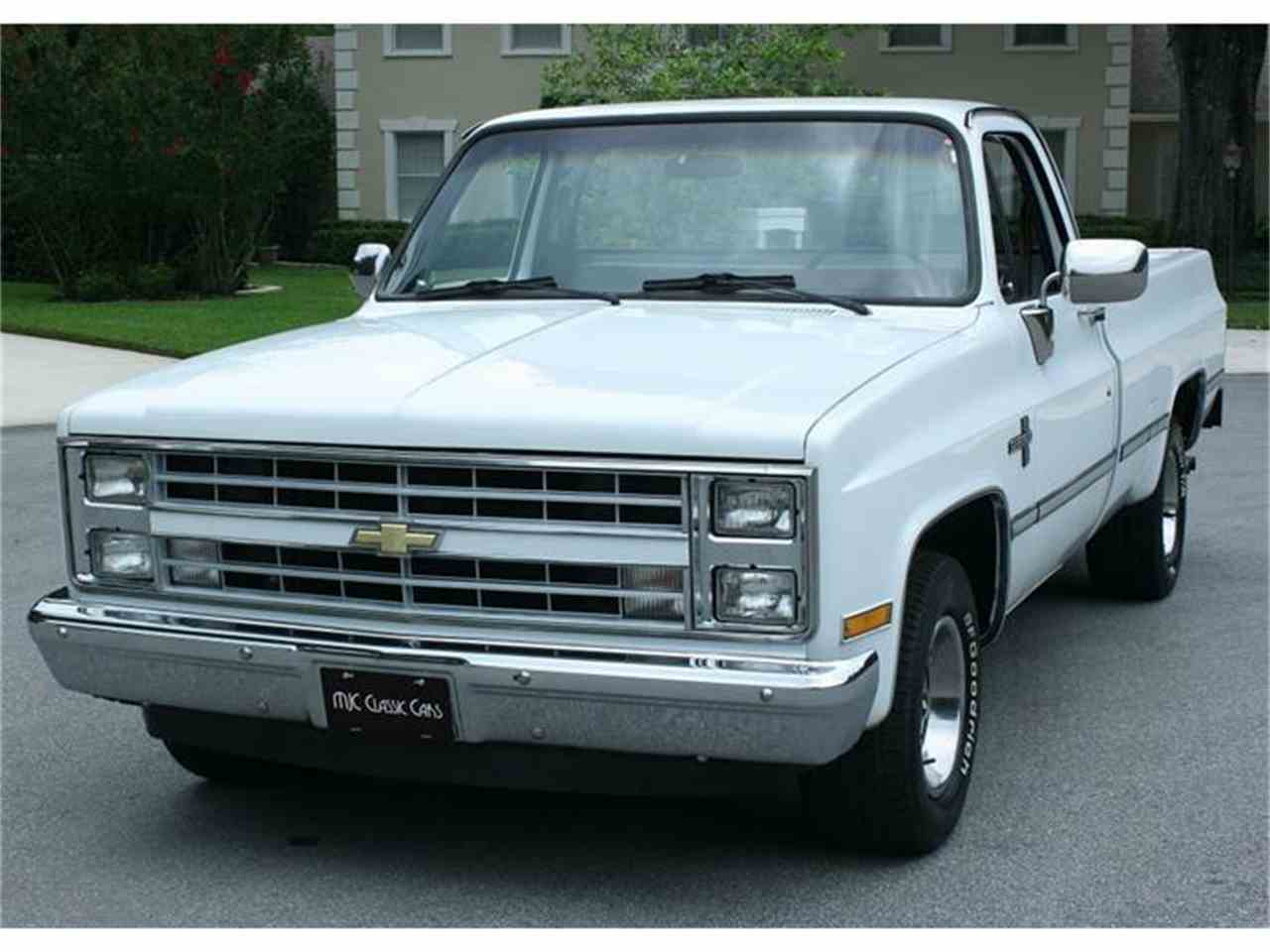 1987 Chevrolet Silverado for Sale | ClicCars.com | CC-874135
