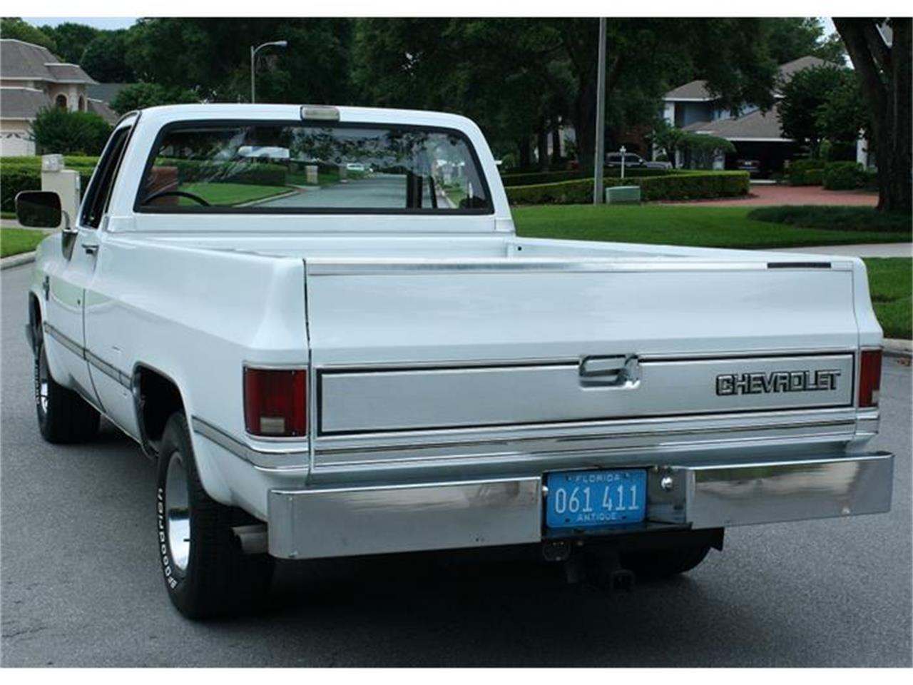 Large Picture of 1987 Chevrolet Silverado located in Florida - $19,500.00 Offered by MJC Classic Cars - IQHJ