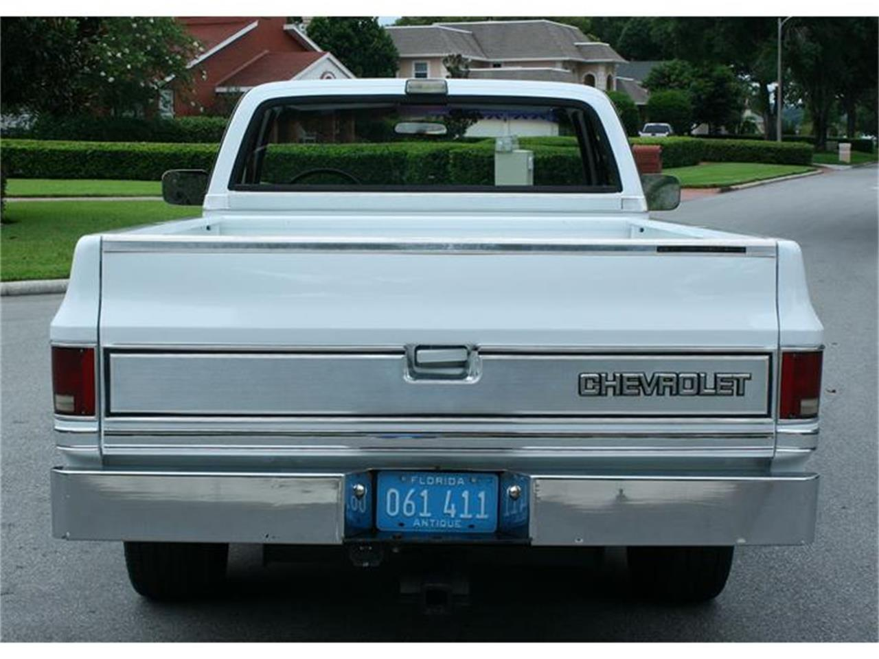 Large Picture of '87 Chevrolet Silverado located in Florida Offered by MJC Classic Cars - IQHJ
