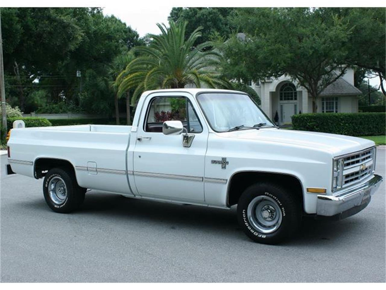 Large Picture of 1987 Chevrolet Silverado located in Lakeland Florida - $19,500.00 Offered by MJC Classic Cars - IQHJ