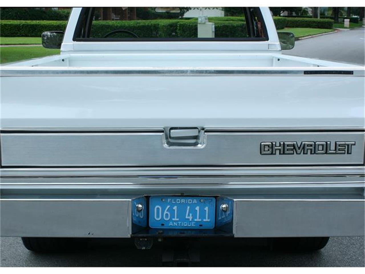 Large Picture of 1987 Silverado located in Florida - IQHJ