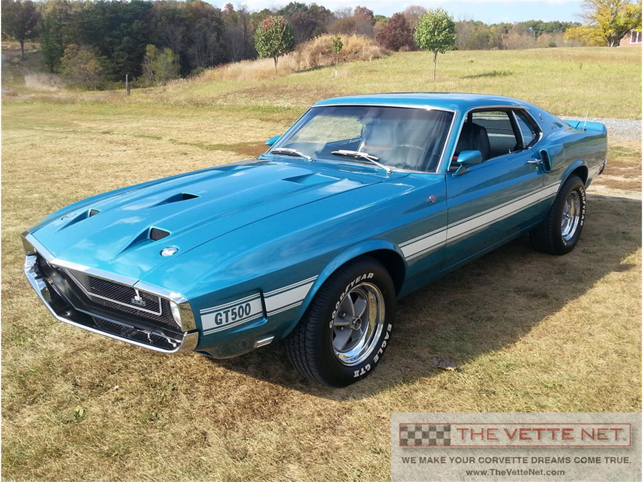 For sale 1969 ford shelby gt500 ram air mustang in sarasota florida