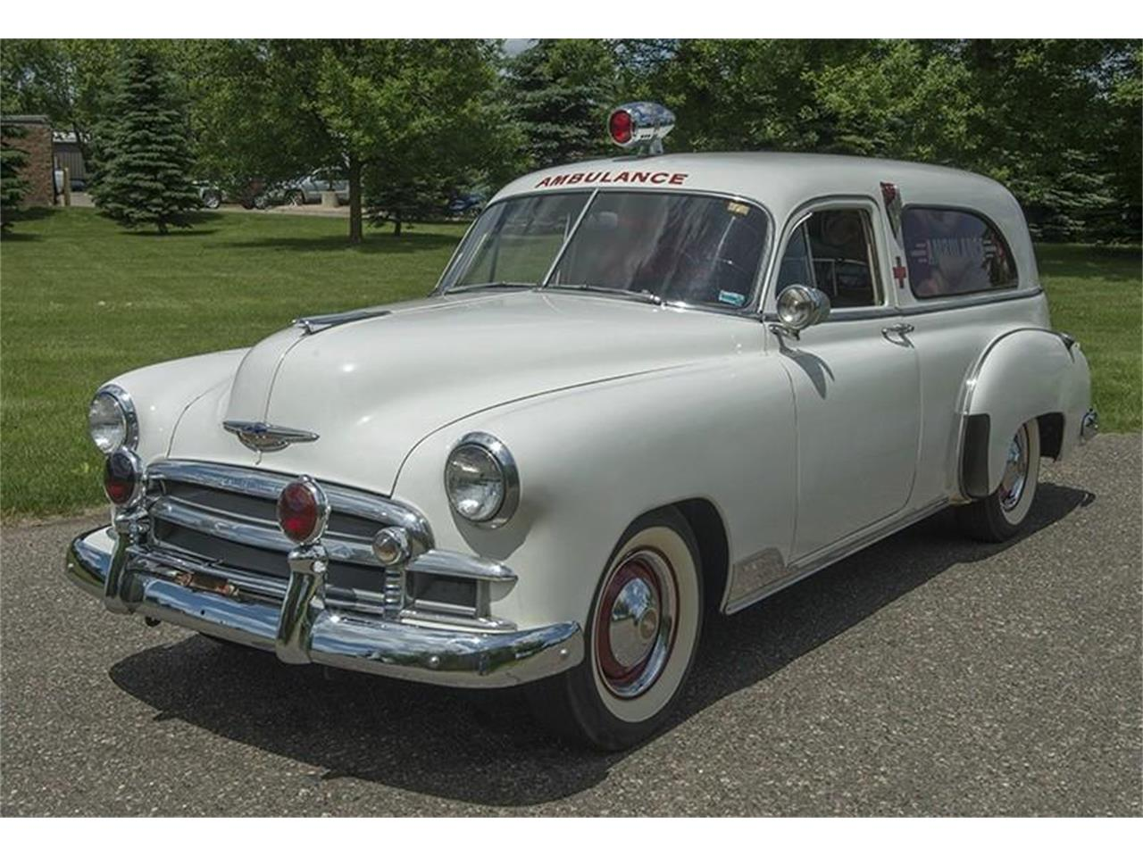 For Sale: 1950 Chevrolet Ambulance in Roger, Minnesota