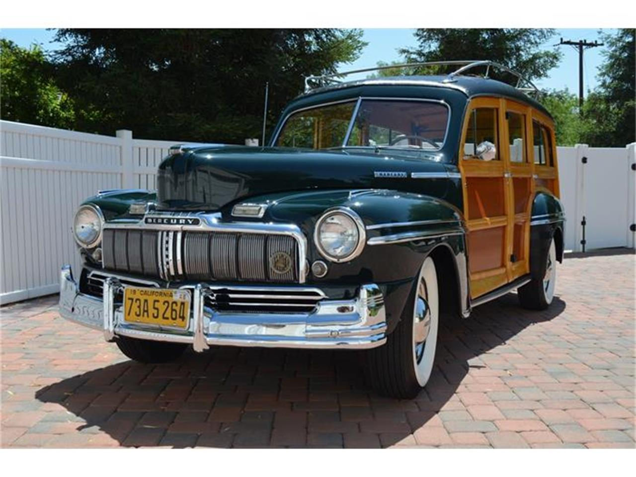 Large Picture of Classic 1948 Mercury Woody Wagon Offered by Spoke Motors - IQS7