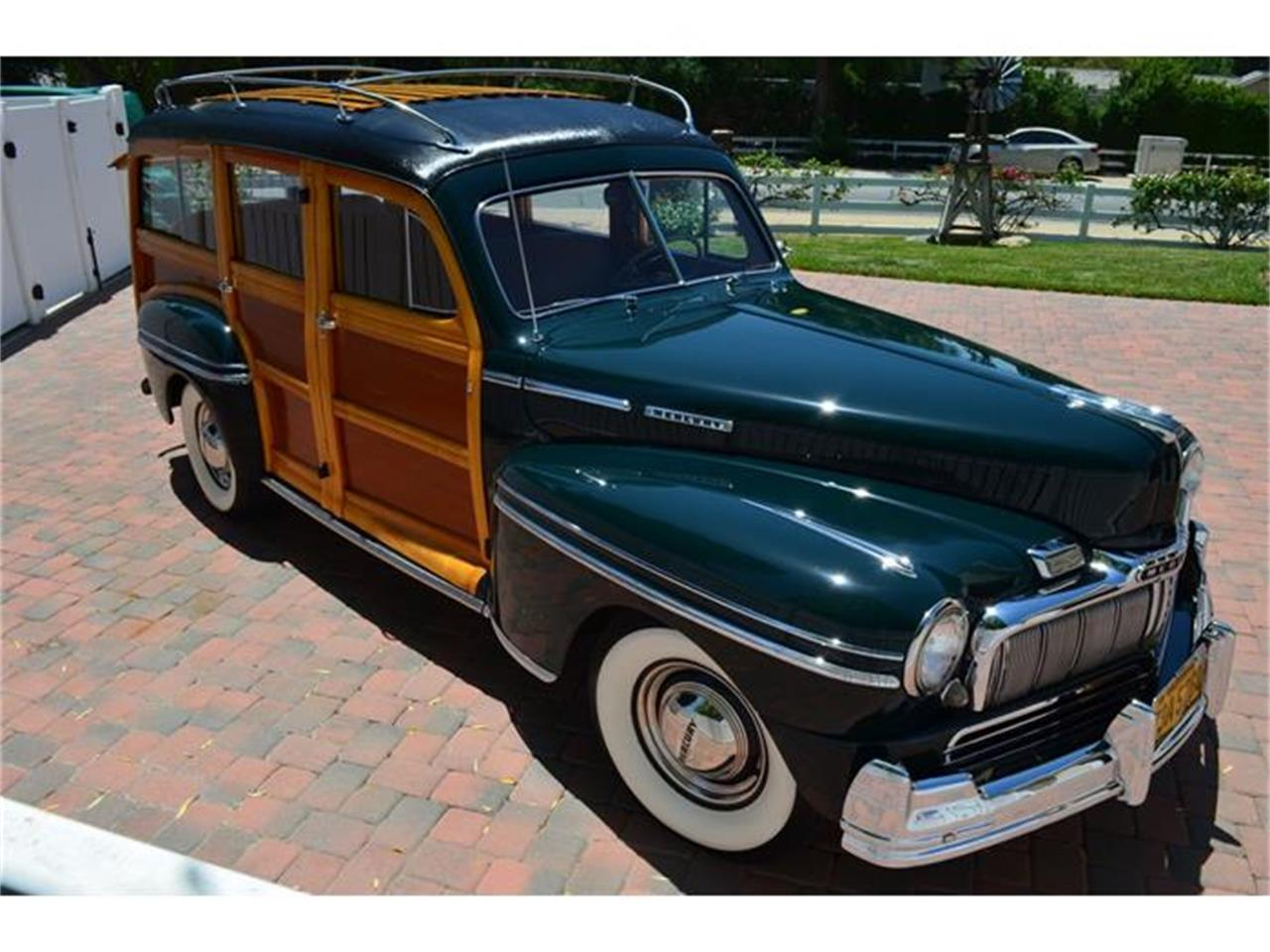 Large Picture of Classic 1948 Mercury Woody Wagon - IQS7