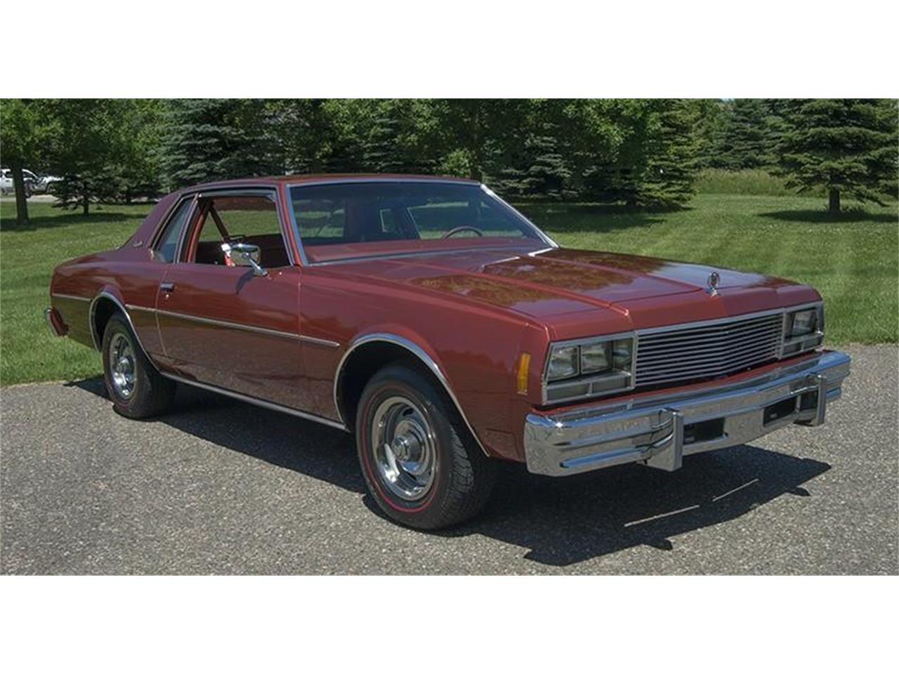 For Sale 1977 Chevrolet Impala In Roger Minnesota