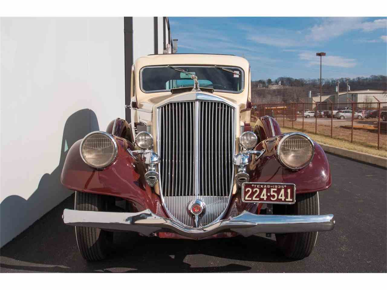 Large Picture of Classic '35 Pierce Arrow 845 Sedan located in St. Louis Missouri Offered by MotoeXotica Classic Cars - IQZ9