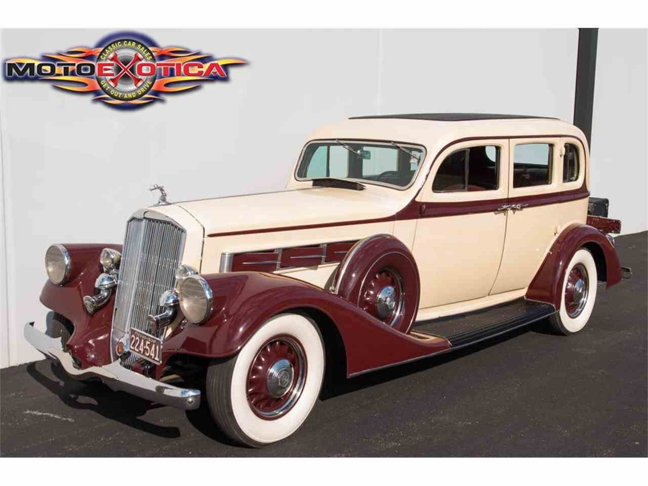 Large Picture of Classic 1935 Pierce Arrow 845 Sedan - $41,900.00 Offered by MotoeXotica Classic Cars - IQZ9