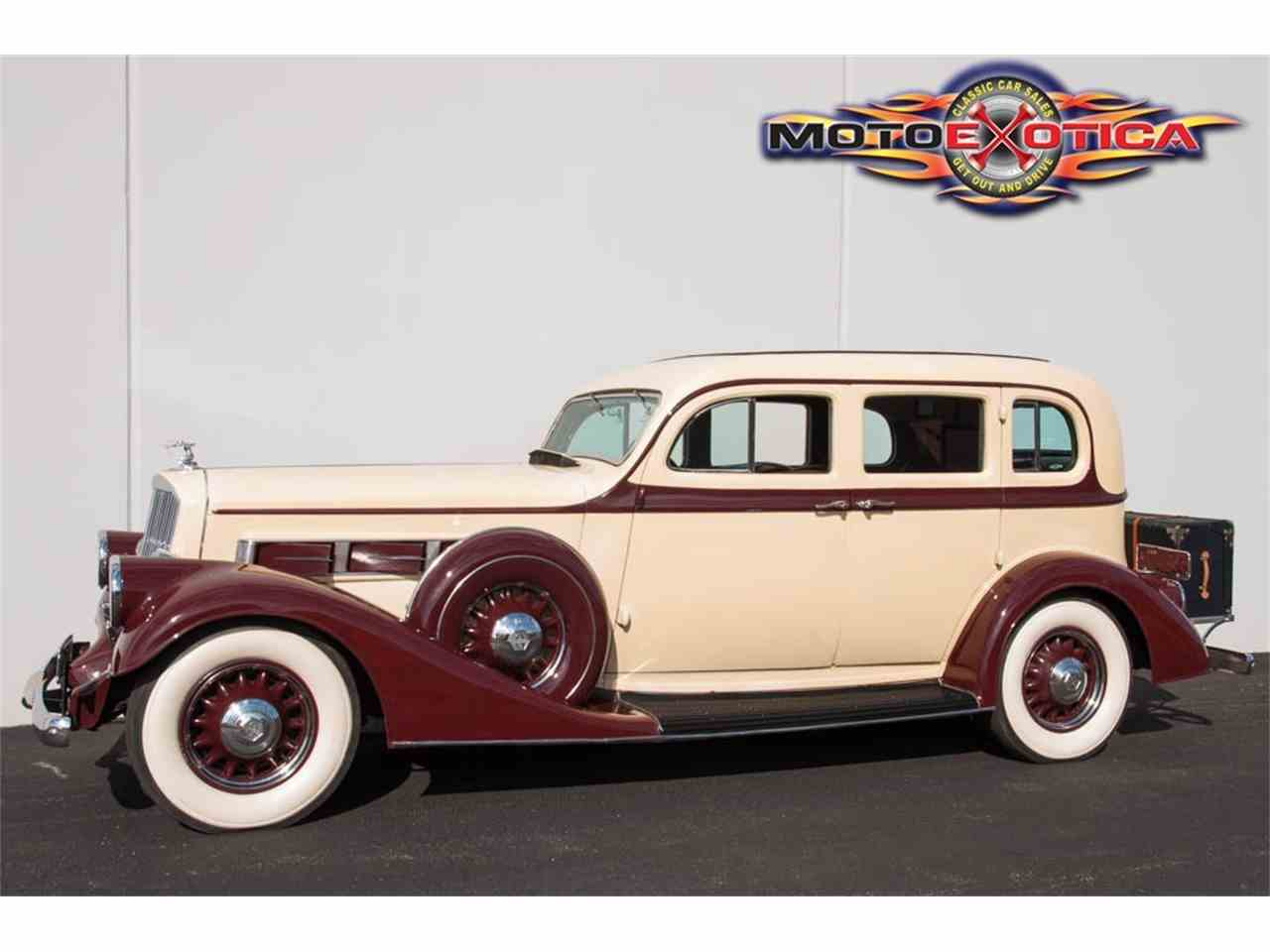 Large Picture of 1935 Pierce Arrow 845 Sedan located in St. Louis Missouri Offered by MotoeXotica Classic Cars - IQZ9
