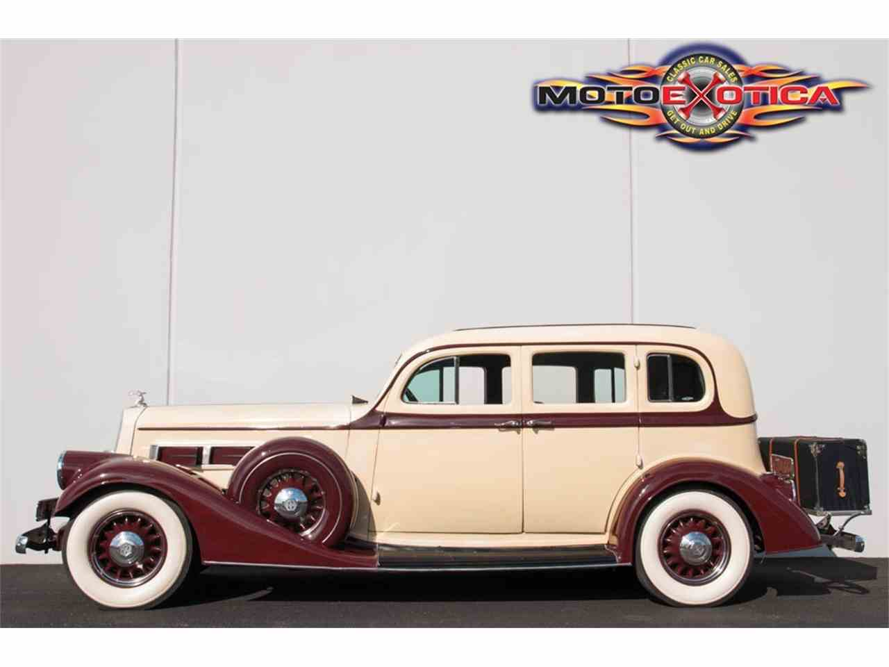 Large Picture of Classic 1935 845 Sedan located in Missouri - $41,900.00 Offered by MotoeXotica Classic Cars - IQZ9