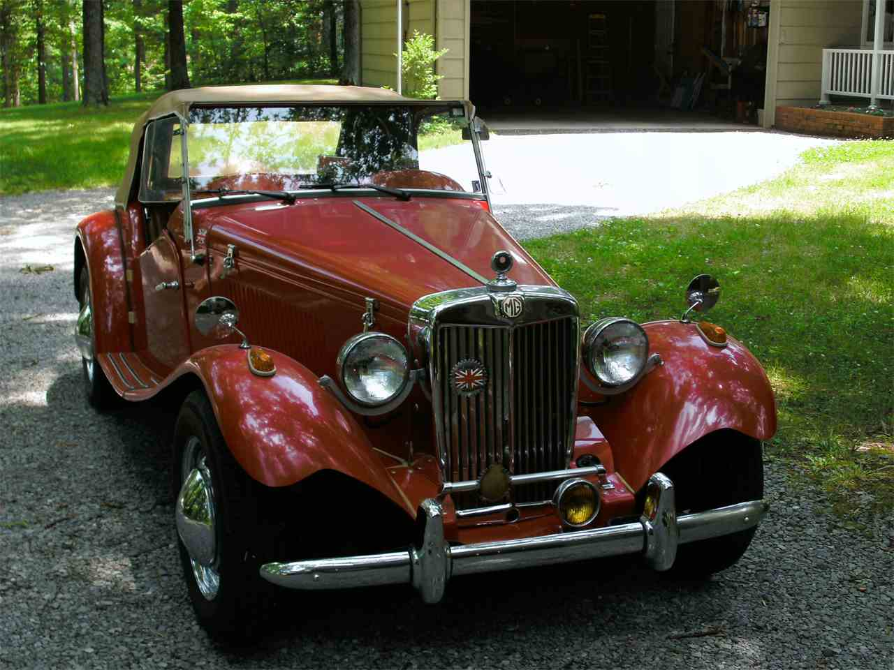 Large Picture of Classic 1952 MG TD located in California Offered by a Private Seller - IR3X