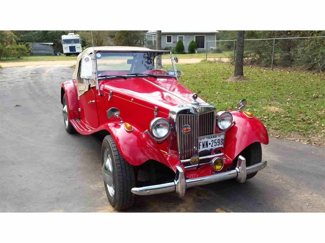 Large Picture of Classic 1952 MG TD - IR3X