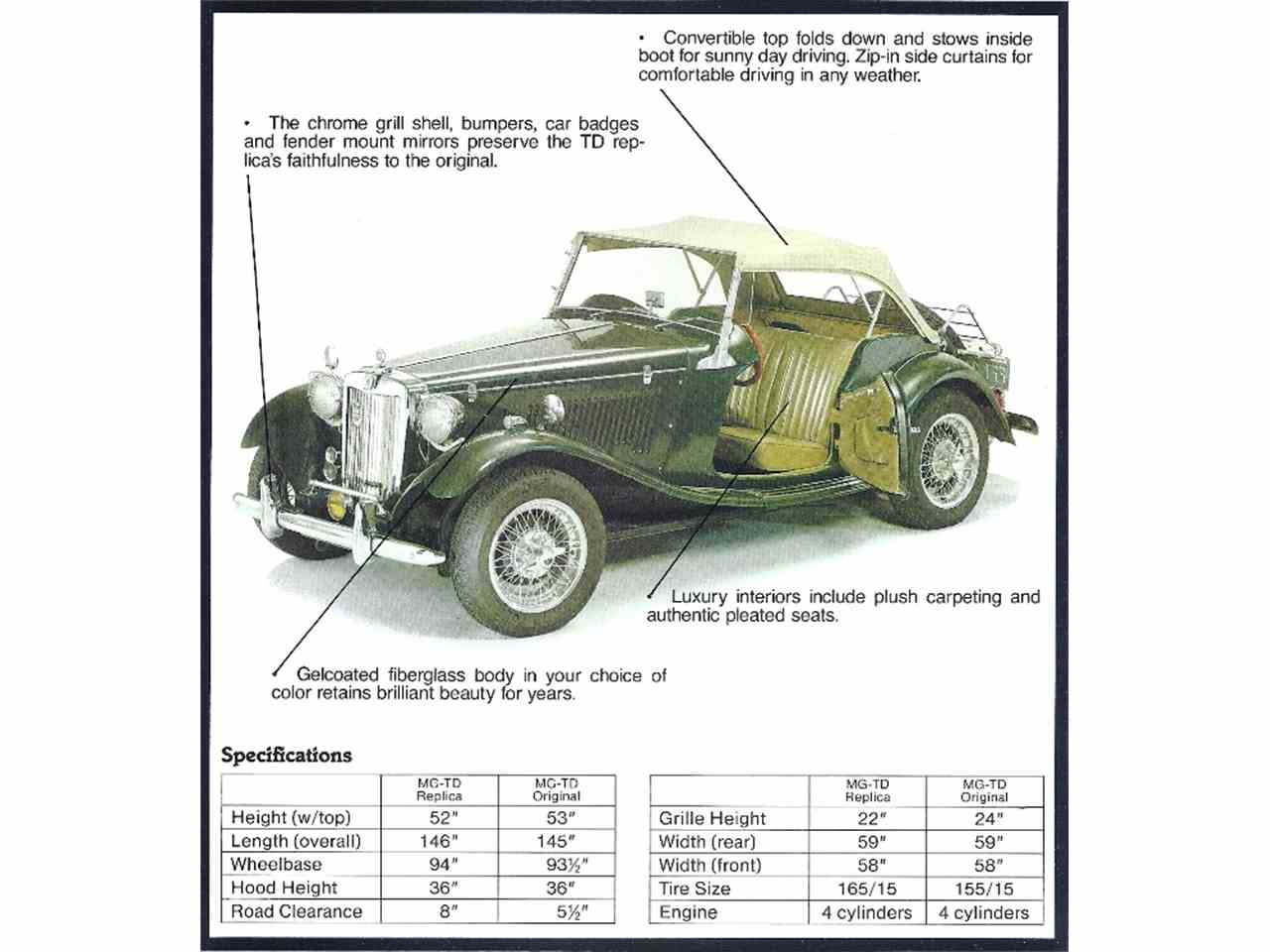 Large Picture of Classic '52 MG TD - $9,999.00 Offered by a Private Seller - IR3X