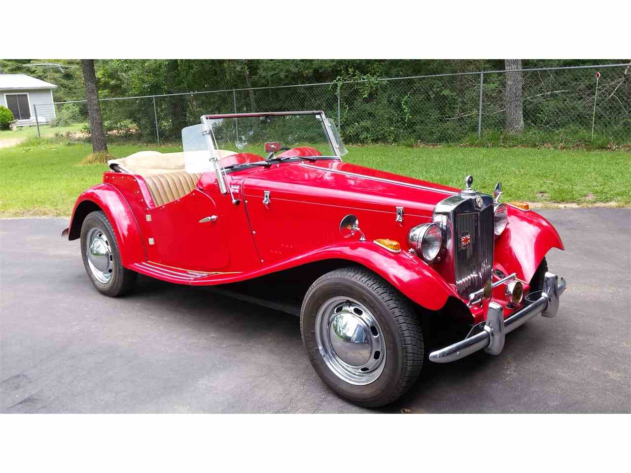 Large Picture of 1952 MG TD located in Escondido California - IR3X